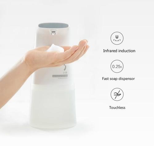 Saboneteira Automático Espuma Sensor P/ Sabonete Detergente