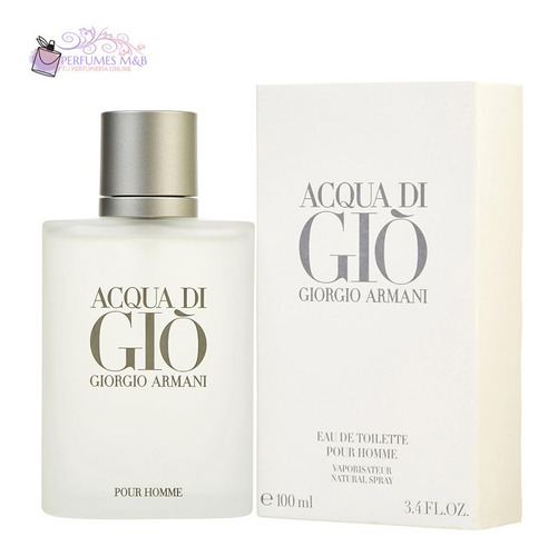 Perfume Acqua Di Gio 100ml Giorgio Armani Original Garantia