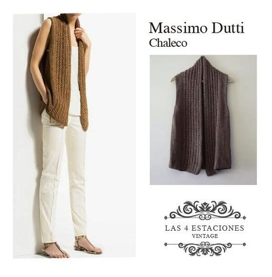 Chaleco Importado De Italia. Massimo Dutti