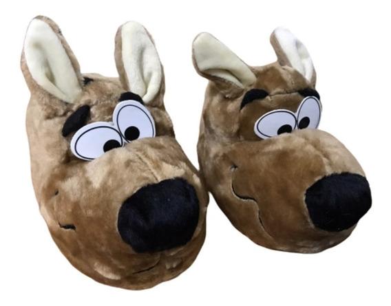 Pantufla Scooby Doo - Niños Y Adultos Invierno