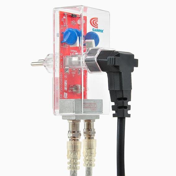 Protetor Antena Parabólica E Digital Clamper - Dps Anti Raio