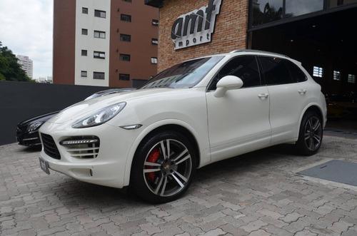 Porsche Cayenne 4.8 4x4 Turbo Blindado 2011
