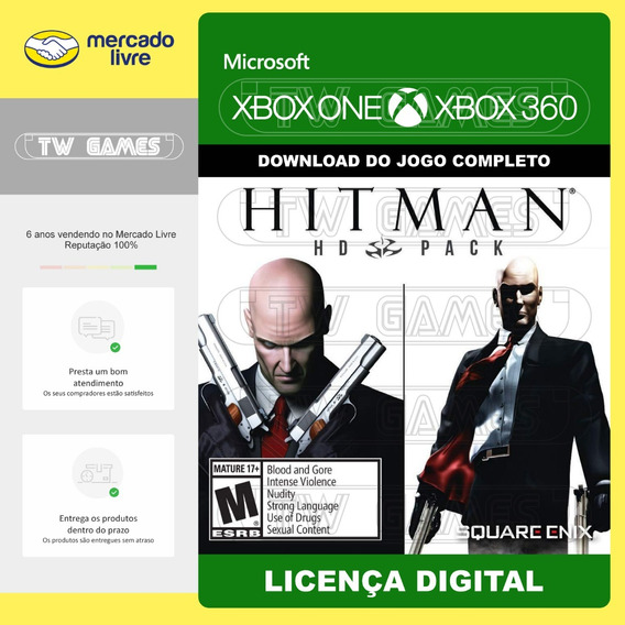 Hitman Hd Pack Retrocompativel Xbox One Xbox 360