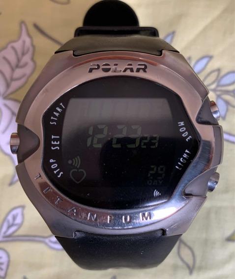 Relógio Polar M71 Titanium Conservado Sem Cinta Usado