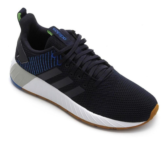 Tênis Running adidas Masculino Questar Byd Ee8378 Marinho