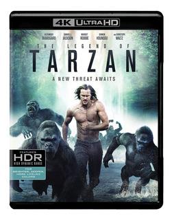 Blu Ray 4k Ultra Hd The Legend Of Tarzan Original