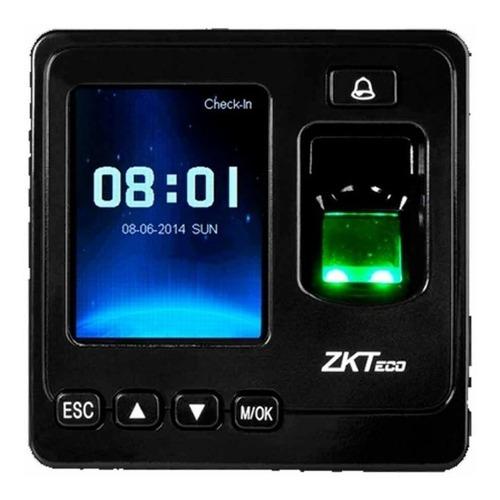 Control De Accesos Y Asistencia Huella Digital Zkteco Sf100w