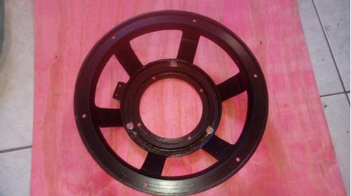 Carcaça De Aluminio Para Alto Falante 12 Pol.bobina Grande