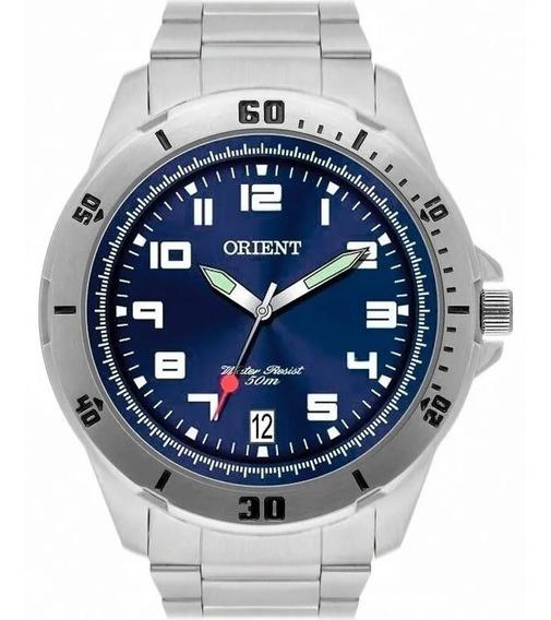 Elegante Relógio Orient Masculino Mbss1155a D2sx De Vltrine