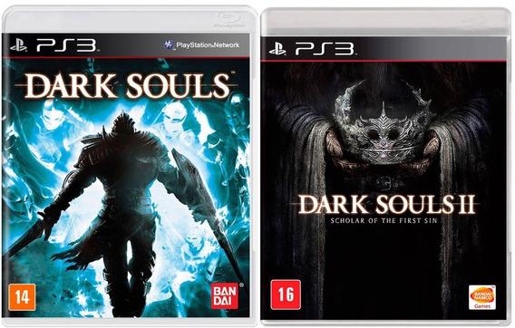 Combo Jogos Darks Souls + Darks Souls Ii Para Playstation 3