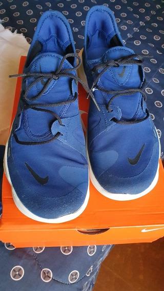 Tênis Nike Free Run 5.0 43 Azul Marinho + Preto