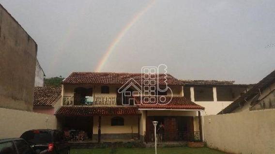 Casa Com 3 Dormitórios À Venda, 218 M² Por R$ 680.000,00 - Maravista - Niterói/rj - Ca0496