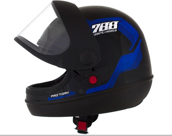 Capacete Pro Tork Sport Moto 788 Moto Motoqueiro Motoboy