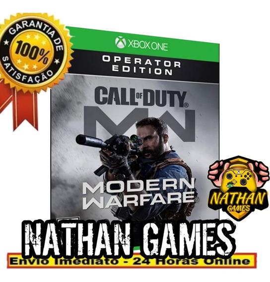 Call Of Dudy Moder Warfare Operador - Xbox One + 1 Brinde