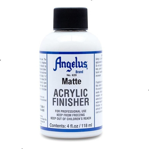 Imagen 1 de 2 de Angelus Acrylic Finisher Pintura Acrilica Matte Importado