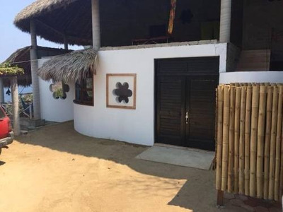 Vende Casa Playa Estacahuite, Puerto Angel Oaxaca