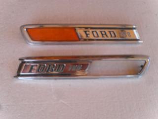 Insignia/ornamento De Capó P/ford F-100 Mod.72