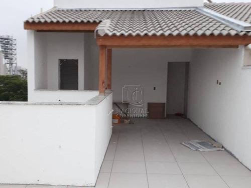 Cobertura Residencial À Venda, Vila América, Santo André. - Co3540