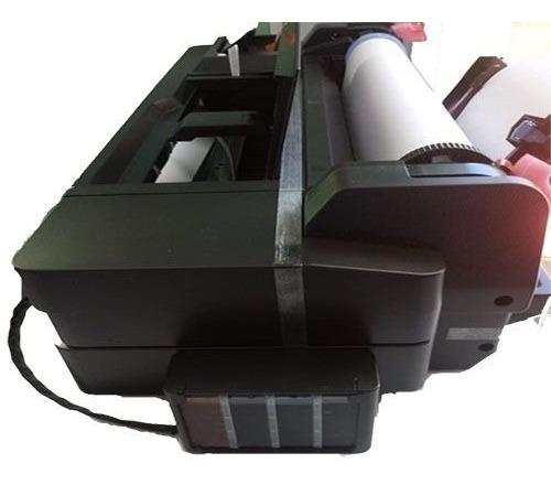 Impressora Plotter Hp T120 Com Bulk Ink Instalado