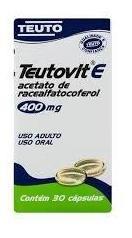Teutovit E 400mg 30caps (vitamina E) Teuto