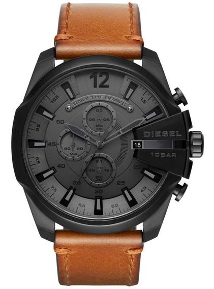 Relógio Diesel Masculino Mega Chief Dz4463/0pn