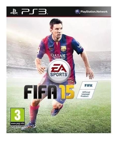 Fifa 15 Playstation Psn Ps3 Midia Fisica Português