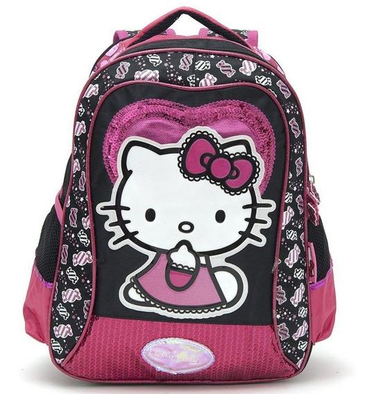 Hello Kitty Mochila Espalda 14p Lic.original Footy