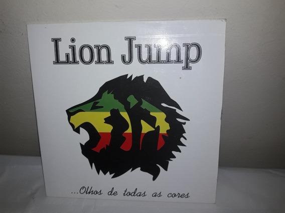 Cd Promo Lion Jump Olhos De Todos As Cores Ne
