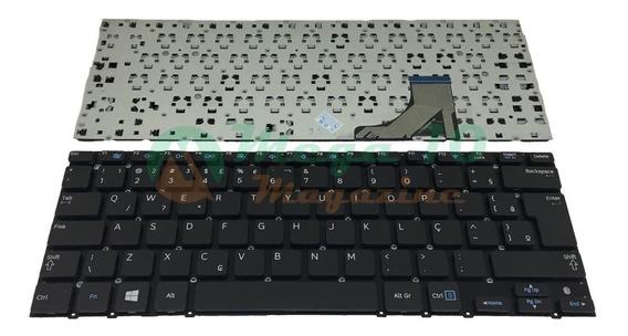 Teclado Para Ultrabook Samsung Np530u3c Com Ç Cód.077