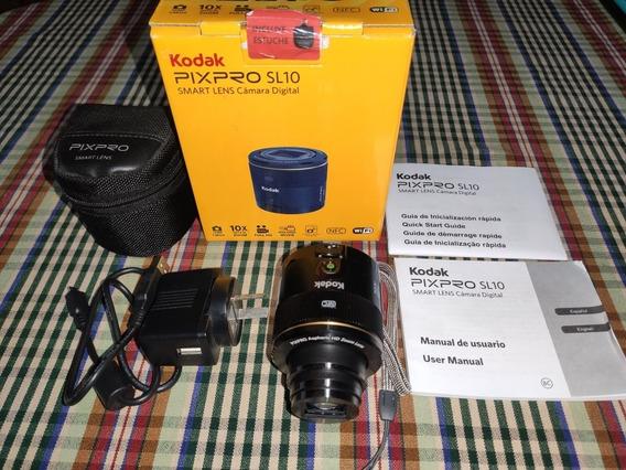 Cámara Digital Kodak Pixpro Sl10 -igual A Nueva, Solo 2 Usos