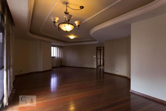 Apartamento No 4º Andar Com 4 Dormitórios E 2 Garagens - Id: 892956140 - 256140