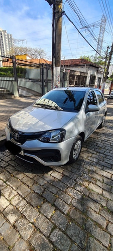 Toyota Etios 2020 1.3 16v X Aut. 5p