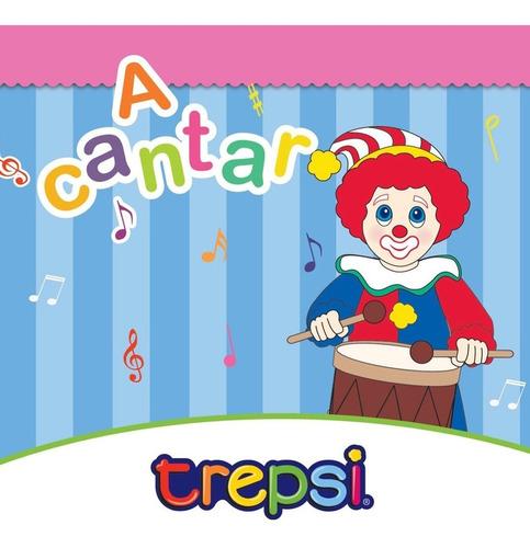 Cd Vol 1 Trepsi El Payaso Musica Infantil Niños A Cantar