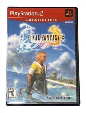 Final Fantasy X - Ps2 - Americano - Lacrado!!!