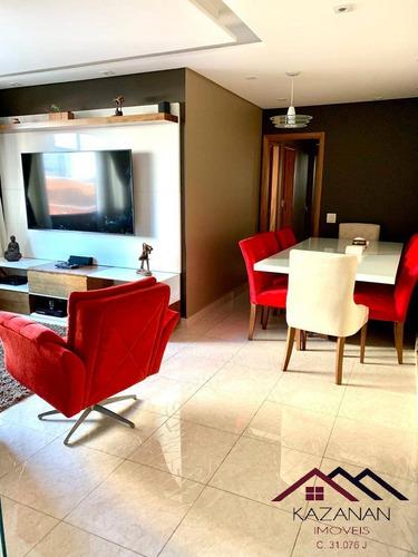 Apartamento 03 Dormitórios No Campo Grande - Santos - 5037