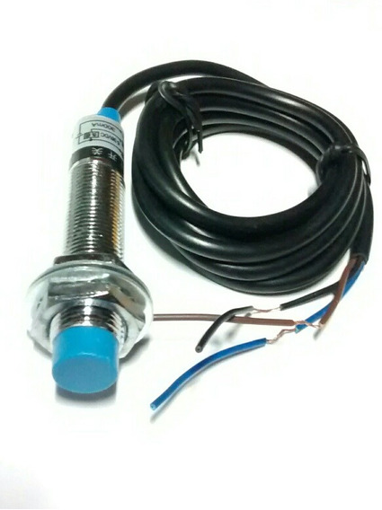 Sensor Indutivo M12 4mm Detecção 6/36v Npn-nf