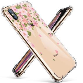 accce213f0b Funda Iphone Xs Max Para Mujer Flores Tpu Air Bag Resistent