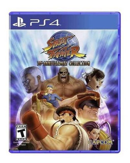 Juego Ps4 Street Fighter 30th Anniversary Collection