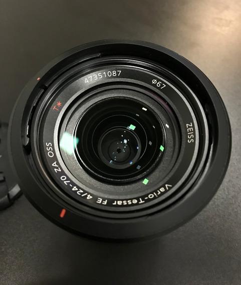 Lente Sony Zoom Full Frame 24-70mm F/4 Zeiss Oss