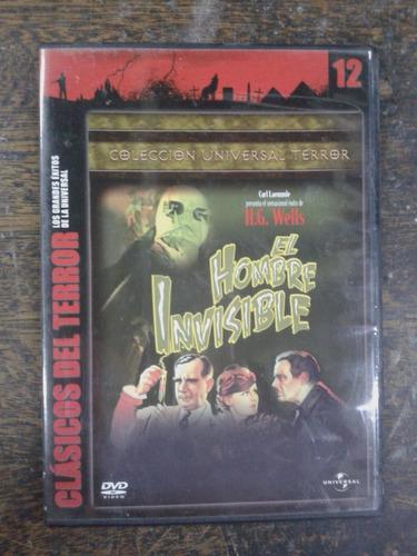 El Hombre Invisible * Clasicos Del Terror * Dvd *