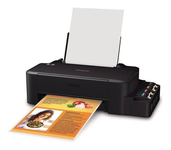 Impressora Epson Ecotank L120 Jato De Tinta Colorida- Bivolt