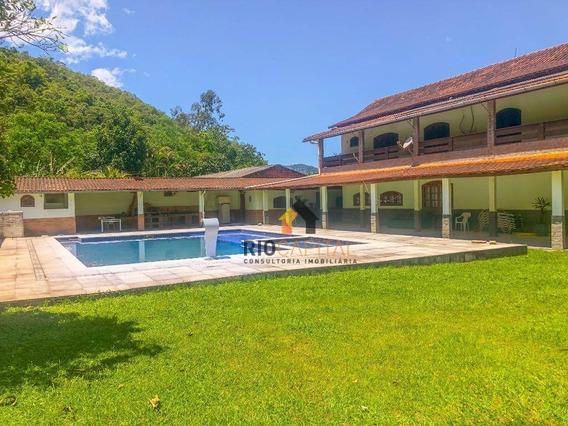 Casa Com 6 Quartos À Venda, 1900 M² Por R$ 950.000 - Fragoso - Magé/rj - Ca0161