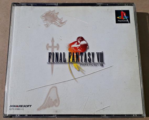 Jogo Final Fantasy Viii 8 Playstation Ps1 Ps3 Psx Japonês