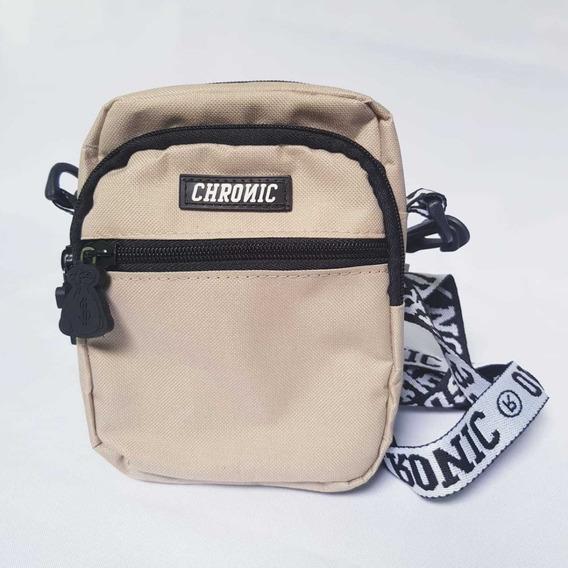 Pochete Mini Bolsa Lateral Shoulder Bag Chronic Lançamento