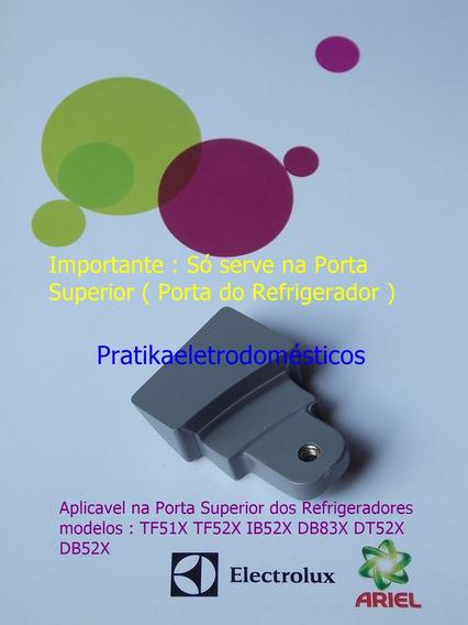 Suporte Do Puxador Electrolux Tf51x Tf52x Porta De Cima
