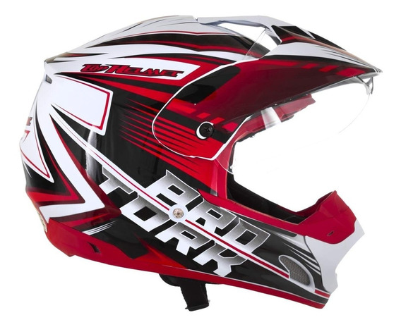 Capacete Pro Th1 Vision Adventure Moto Cross Tork Tam. 58