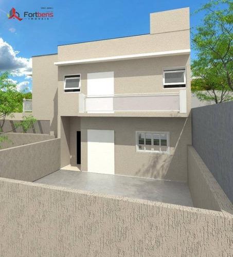 Imagem 1 de 4 de Sobrado À Venda, 137 M² Por R$ 720.000,00 - Região Central - Caieiras/sp - So0821