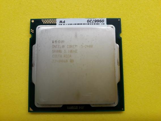 Processador Intel Core I5 2400 Liga 1155, 3.1 Ghz + Cooler