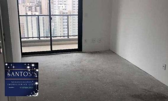 Apartamento Com 1 Dormitório À Venda, 42 M² Por R$ 530.000 - Brooklin - São Paulo/sp - Ap1739