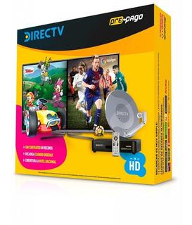 Directv Prepago Kit Antena 46 Cm Tv Satelital Control Remoto